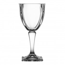 Red Wine and Water Glasses, Set of 6 4179