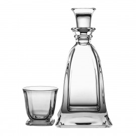 Crystal Whisky Decanter and Glasses Set 2143