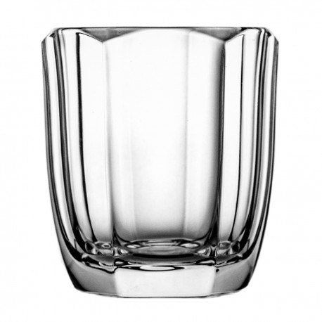 Set of crystal whisky glasses