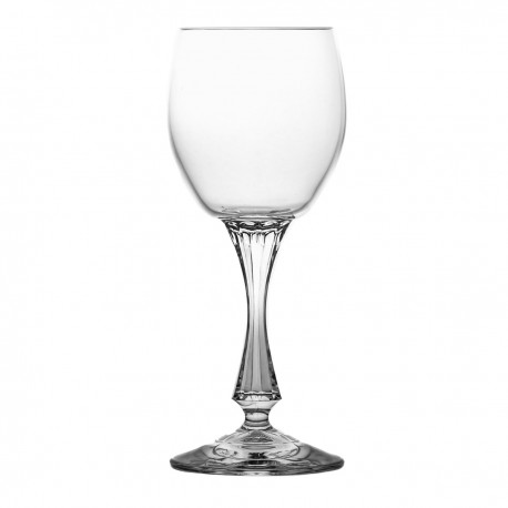 Set of crystal sherry glasses 6 pcs