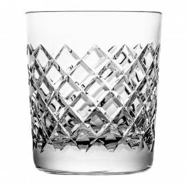 Set of crystal whisky glasses 6 pcs
