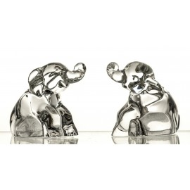 Crystal Elephant Salt and Pepper Shakers, Set of 2 05557