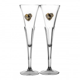 Wedding Crystal Champagne Glasses, Set of 2 05220