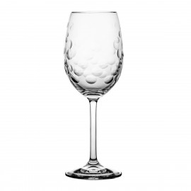 Set of crystal wine glasses aeris 6 pcs
