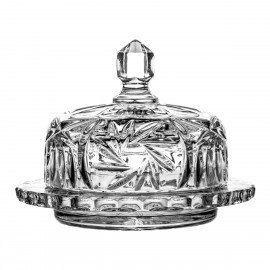 Crystal Butter Dish 04940