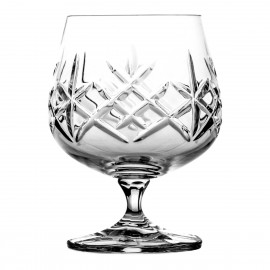 Set of crystal cognac glasses 6 pcs