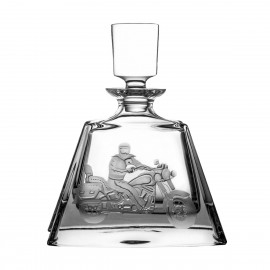 Crystal Engraved Whisky Decanter 08088