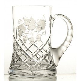 Engraved Crystal Beer Mug 05689