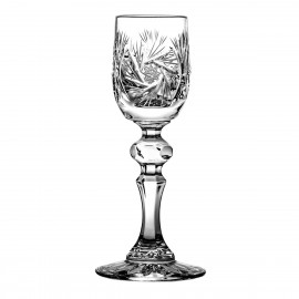 Crystal Sherry and Liqueur Glasses, Set of 6 06913