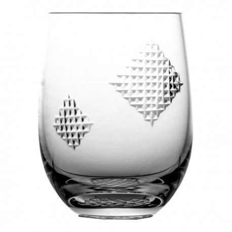 Crystal juice glass