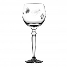 Crystal Red Wine and Water Glass Łatki 06870