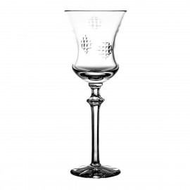 Crystal Red Wine and Water Glass Łatki 08481
