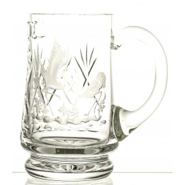 Engraved Crystal Beer Mug 05730