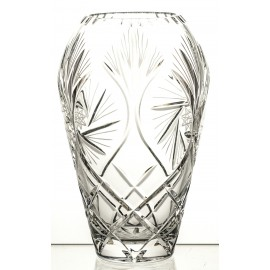 Crystal vase for engraver