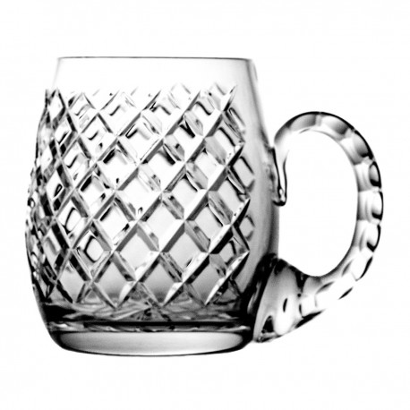 Crystal beer mug