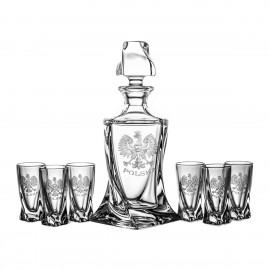 Vodka Decanter and Glasses Set 05757