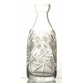 Crystal bottle decanter
