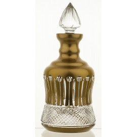 Painted Crystal Wine Decanter 09406