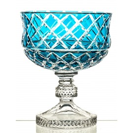 Crystal Painted Fruitbowl 16288