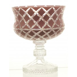 Crystal Painted Fruitbowl 16292