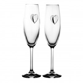 Wedding Crystal Champagne Glasses, Set of 2 10160