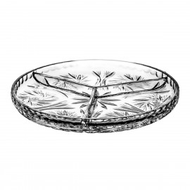 Crystal Snack Tray 06877