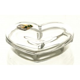Crystal Heart Box 05876