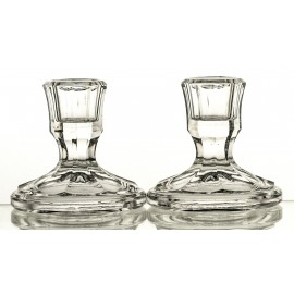Crystal Candlesticks, Set of 2 00076