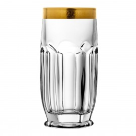 Set of long drink glasses 6 pcs
