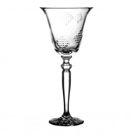 Crystal Red Wine Glass Łatki 06888