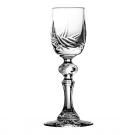 Set of crystal liqueur glasses 6 pcs