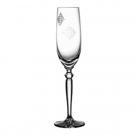 Crystal Champagne Glass 08543