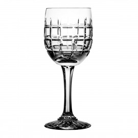 Set of crystal wine glasses 6 pcs