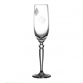 Crystal Champagne Glass 06894