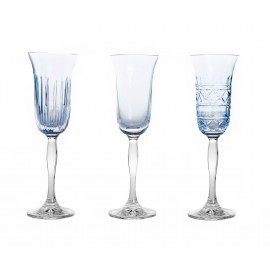 Painted Champagne Glasses, Set of 3 14687