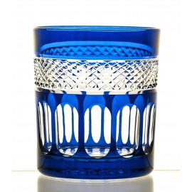 Crystal Painted Whisky Glasses, Set of 6 16438