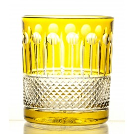 Crystal Painted Whisky Glasses, Set of 6 16321