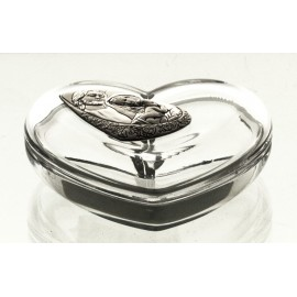 Crystal Heart Box 05880