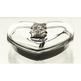 Crystal Heart Box 10178
