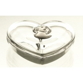 Crystal Heart Box 05879