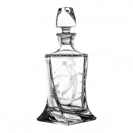 Engraved Whisky Decanter golf