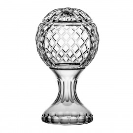 Crystal trophy for engraving