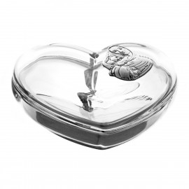 Crystal Heart Box 05884