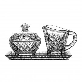 Breakfast Set Milk Jug and Sugar Bowl 05893