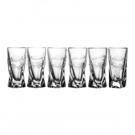 Engraved Vodka Glasses, Set of 6 01315