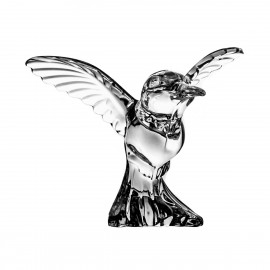 Crystal Hummingbird Paperweight 05872