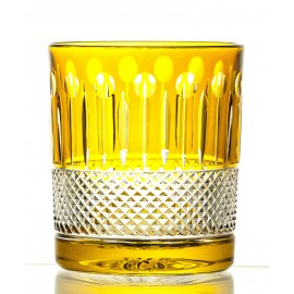 Crystal Painted Whisky Glasses, Set of 6 18445