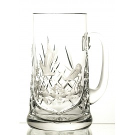 Engraved Crystal Beer Mug 05642