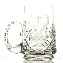 Engraved Crystal Beer Mug 05900
