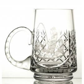 Engraved Crystal Beer Mug 05902